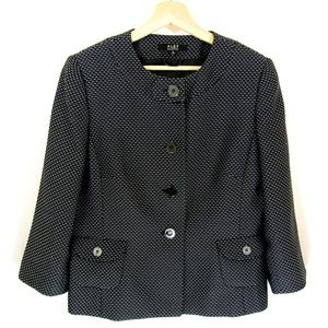 Jackie OMG Black Tweed Blazer